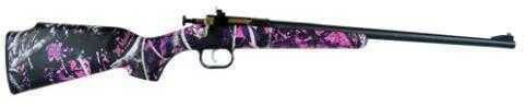 Keystone Manufacturing Rifle Davey Crickett Rifle Muddy Girl Blued Barrel 22 Long Rifle