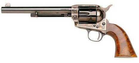 "Taylor's & Company Cattleman New Model 44-40 Winchester 7 1/2"" Barrel Case Hardened Frame Blued Finish Revolver"