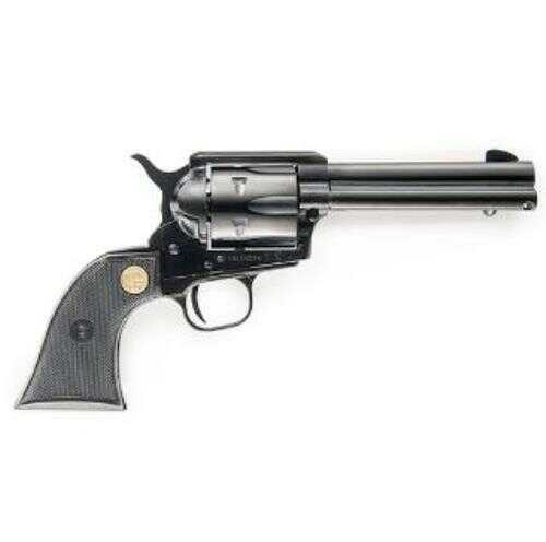 "Chiappa 1873 Single Action 17 HMR Revolver 4.75"" Barrel 6 Round Plastic Grips Black Finish"
