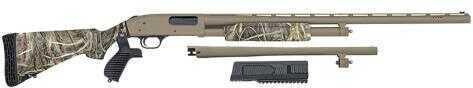 """Mossberg 500 Flex 12 Gauge Shotgun  28"""" Vented Rib Barrel  18"""" Security  Barrel  Real Tree Max-4 Camo"""