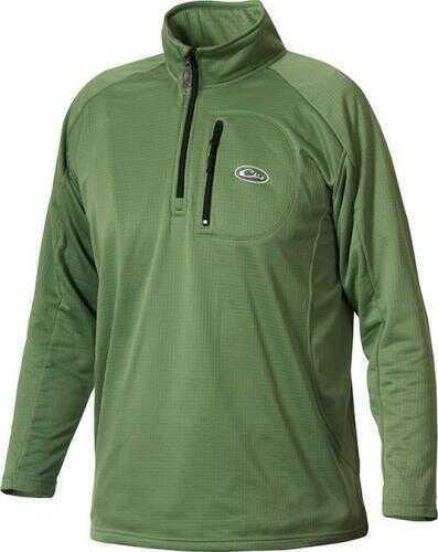 Drake Waterfowl Drake Breathlite 1/4 Zip Jacket Green Medium