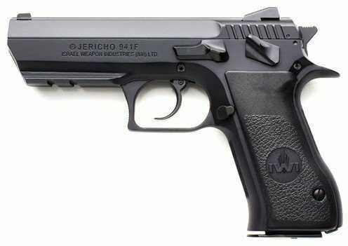 "Israel Weapon Industries Jericho 941 F-40  40 S&W 4.4"" Barrel Black Steel  Adjustable Sights  12 Rounds Semi-Auto Pistol"