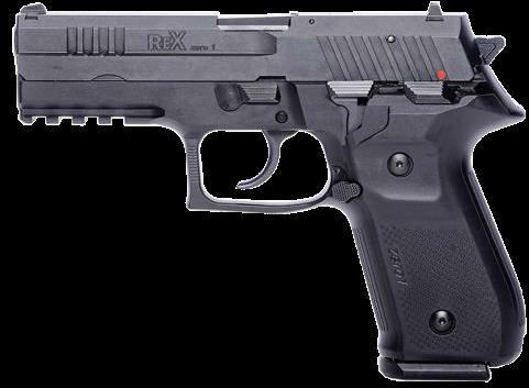 "FIME Group, Pistol Arex REXZERO1S-01 Rex Zero 1S 9mm 4.25"" Barrel Black 17 Rounds"