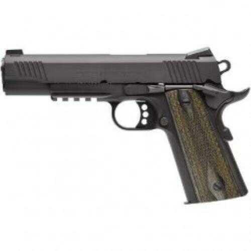 """Colt Government 45 ACP 5"""" Barrel Rail Cerakote Finish Semi Automatic Pistol"""