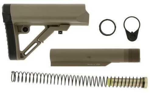 Leapers Inc. Combat S1 Mil-spec Butt Stock Kit-Flat Dark Earth Md: RBUS1DM