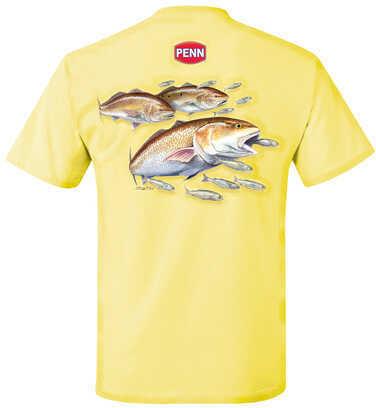 Penn Men's Red Drum Yellow T-Shirt XX-Large 1290022