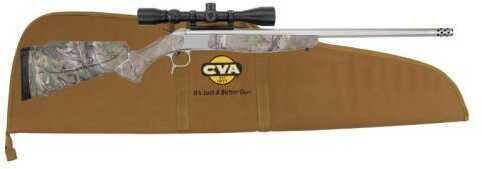 CVA Scout 35 Whelen Stainless Steel Barrel Realtree Xtra Green Camo