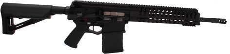 """Patriot Ordnance 308 Winchester 14.5"""" Barrel 11mm Rail Black Permanent Muzzle Semi-Automatic Rifle 00424"""