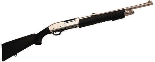 "TR Imports Sliver Eagle Express Pump 12 Gauge Shotgun 3"" Chamber 20"" Barrel 3 Round Slug Marinecote"