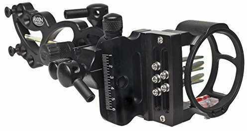 Axion Archery Vue Micro 5 Pin 9 Ounce Sight, Black