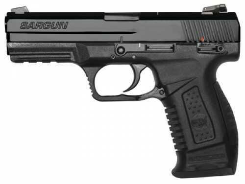 "European American Armory Sargun Pistol 9mm 4.5"" Barrel 17 Rounds Blued Striker Fired"
