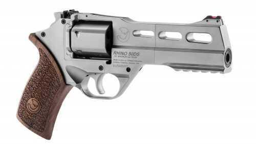 """Revolver Chiappa Rhino  50DS 357  Magnum 5"""" Barrel Chrome Finish"""