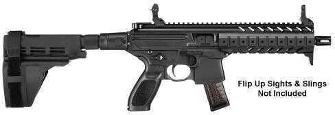 "Sig Sauer MPX Pistol, 9mm Luger 8"" Barrel, 30 Rounds, Key Mod Rail, Black"