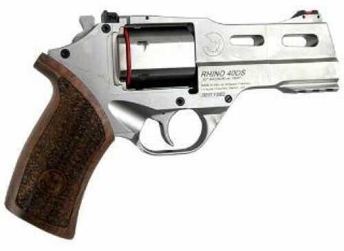 "Chiappa Rhino 40 SAR 357 Magnum 4"" Barrel Chrome Finish Pistol 340.245"