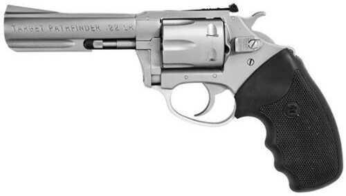 "Charter Arms Target 357 Magnum 4.2"" Barrel Stainless Steel 5 Round Revolver Pistol"