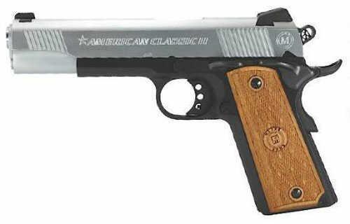 "Bersa American Classic II 1911 Government 45 ACP 5"" Barrel  8 Round  Duotone  Semi Automatic Pistol AC45G2DT"