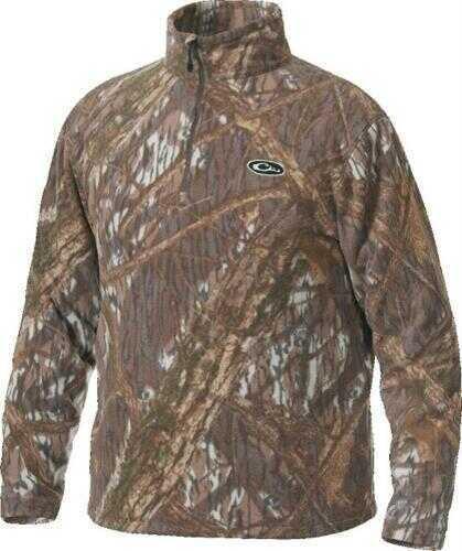 Drake Waterfowl Drake 1/4 Zip Fleece Pullover SHBR XL