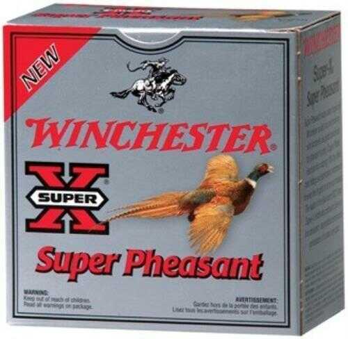 """Winchester Super-X 12 Gauge 2 3/4"""" Pheasant 1.25Oz #4 25 Rounds Ammunition X12P4"""