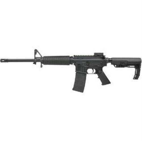 "Armalite AR-15 223 Remington /5.56mm NATO 16"" Barrel MFT Stock 30 Round Mag Black Finish Semi-Automatic Rifle"