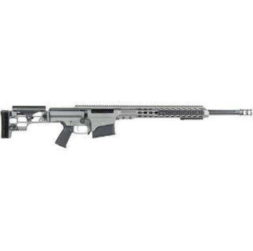 "Barrett Firearms Rifle Barrett 260 Remington 24"" Fluted Barrel Gray Finish 10 Round Mag Bolt Action 14439 MRAD"