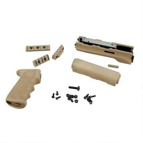 Hogue AK-47 Rubber Grip Yugo Style w/Forend Desert Tan 74318