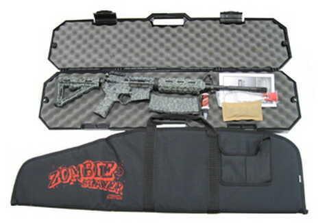 Black Dawn Zombie Slayer AR-15  223 Remington   Zombie Green   Semi Automatic Rifle   BDR-15MZG