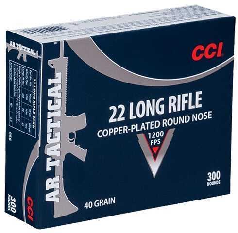 CCI 22 Long Rifle AR Tactical Ammunition 40 Grains 300 Rounds Model 956