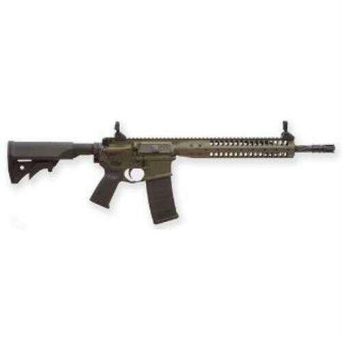 "LWRC IC-SPR 223 Remington/5.56mm NATO 16"" Barrel 30+1 Magazine Capacity Collapsible Folding Stock Semi-Auto Rifle"