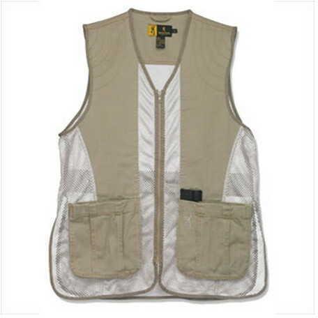 Browning Dusty Mesh Vest Clay/Tan Medium 3050236802