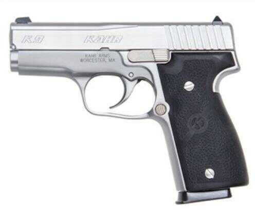 "Kahr Arms Pistol KAHR K9 ELT 2003 DA 9mm Luger 3.5"" Barrel Stainless Steel Polymer 7 Rounds, 2 Mags"