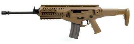 "Beretta 223 Remington/5.56mm NATO 16"" Barrel 30+1 Round Mag Flat Dark Earth Finish Thumb Lever Safety 6-Position Black Stock Semi-Automatic Rifle"