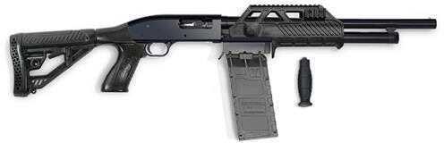 "Adaptive Tactical Sidewinder Venom Maverick 88 12 Gauge Shotgun  18.5"" Barrel 2.75"" Chamber  5 Round  PG Stock Pump Action  00101"