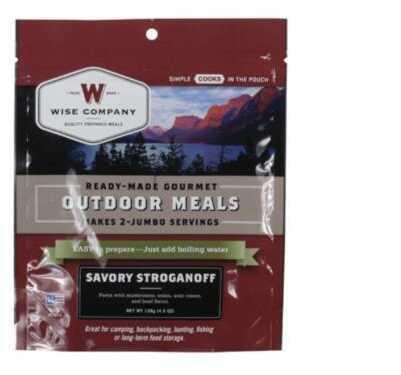 Wise Foods Wise Savory STROGANOFF 4.5 Oz Freeze Dried Food 03303