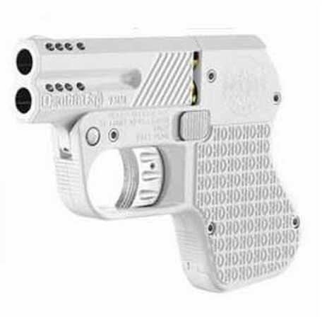 """Doubletap Defense Pistol 45 ACP Double Action 3"""" Ported Barrel White Aluminum  Ported Barrel  DT045013"""