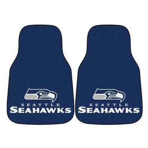 Fanmats 2 Piece Carpet Car Mat Set Nfl - Seattle Seahawks
