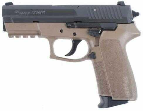 Pistol Sig Sauer Pro Sp2022 9mm 3.9 2-tone Flat Dark Earth Stainless Steel Ns 2 15 Round