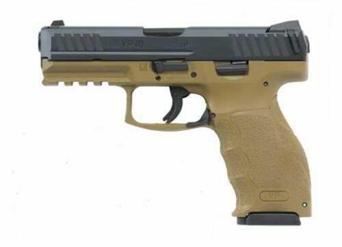 Heckler & Koch Heckler and Koch (HK USA) Semi-Auto Pistol VP9 9MM Flat Dark Earth 4.1 10+1 FS 3 BACKSTRAPS|2 LAT GRIP PLATES 9m