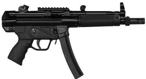 """Pistol Zenith Firearms Z-5RS 9MM 8.9"""" 1/2X28 Threaded Barrel Black 30rd"""