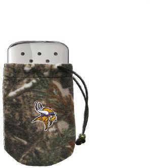 Zippo NFL/Realtree Logo Bag, w/Chrome Hand Warmer Minnesota Vikings 40305