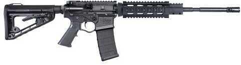 "American Tactical Imports ATI Omni-Hybrid Maxx AR-15 Semi-Automatic Rifle 223 Remington / 5.56mm NATO 16"" Melonite Coated Barrel 30 Round 7"" Free Floated Quad Rail GOMXQ5.56"
