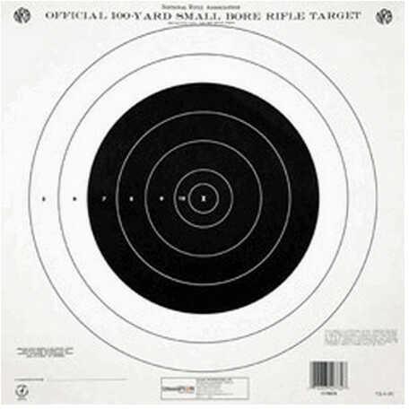 Champion Traps and Targets Tq4(P) 100 Yard Single Bullseye (Per 100) 40777