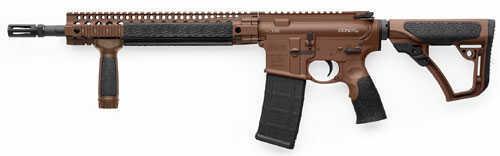"""Daniel Defense V5 Milspec Semi Automatic Rifle 223 Remington / 5.56 Nato 16"""" Barrel 30 Round Brown Furniture"""
