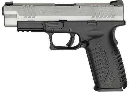 "Springfield Armory XD(m) 45ACP 10 Round 4.5"" Barrel Stainless Steel Finish Black Frame Semi Automatic Pistol"