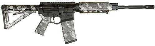 """American Tactical Imports Rifle ATI Omni Hybrid 5.56mmNATO 16.1"""" Barrel 30 Round Mag Reaper Z Silver MOE Semi Automatic GOMNIHA556S"""