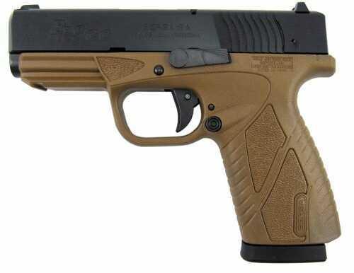 "Pistol Bersa BPCC Concealed Carry DAO 9mm 3.3"" Barrel 8+1 Rounds Flat Dark Earth Poly Grip/Frame Black"