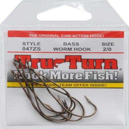 Blakemore Lure / Tru Turn Tru Turn / Blakemore Tru Turn Hook-Header Pack Perma Steel Catfish 6/ctn 722ZS-2/0