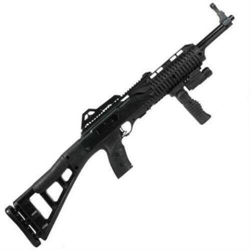 "Hi Point 45ACP 17.5"" Barrel 9 Round Black Skeletonized Semi Automatic Rifle Forward Grip & Light 4595TSFGFL"