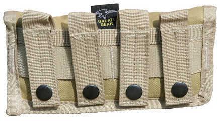 Galati Gear MOLLE Shotgun Ammo Pouch Tan GLMA328-T