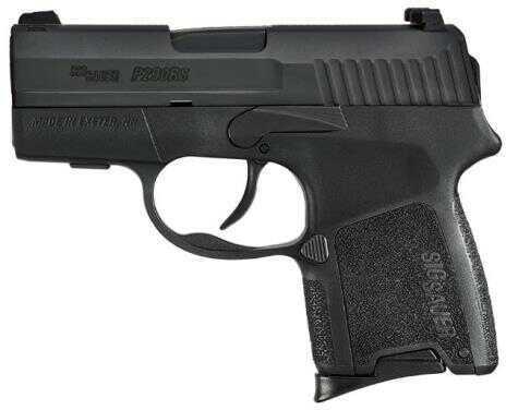 "Sig Sauer Semi-Auto Pistol 380 ACP 2.9"" Barrel 6 And 8 Round Mags Nitron Finish With Siglite Night Sights"