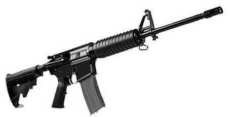 """Del-Ton Echo 316H AR-15 5.56mm NATO 16"""" Barrel Adjustable Stock 30 Round Semi-Automatic Rifle RFTH16-0"""